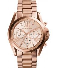 Michael Kors MK5503 Damas Bradshaw reloj cronógrafo de oro rosa