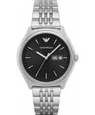 Emporio Armani AR1977 Para hombre viste el reloj pulsera de acero de plata