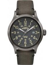 Timex TW4B01700 Mens análogo expedición elevado reloj marrón