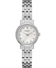 Kate Spade New York KSW1241 Las señoras mini reloj pulsera de acero de plata Monterey