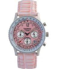 Krug-Baumen 400515DS viajero aéreo de línea de color rosa correa de color rosa