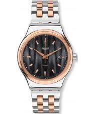 Swatch YIS405G Sistem esmoquin reloj de pulsera de acero de dos tonos