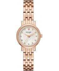 Kate Spade New York KSW1243 Las señoras mini-Monterrey se levantó reloj pulsera de acero de oro