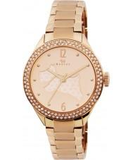Radley RY4190 Damas chapado en oro rosa reloj pulsera con piedras