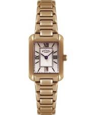 Rotary LB02652-41 Relojes de oro reloj chapado