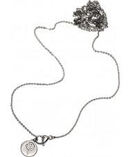 Edblad 116130171 de acero de plata damas charmentity cadena larga