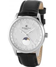 Edward East EDW1898G14 Reloj para hombre de la correa de cuero negro