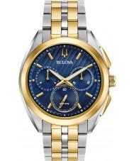 Bulova 98A159 Reloj progresivo del curv del vestido del Mens