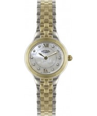 Rotary LB02761-41 Relojes de plata y reloj de oro