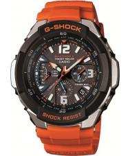 Casio GW-3000M-4AER de radio para hombre g-choque controlado con energía solar reloj anaranjado