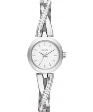 DKNY NY2173 Damas crosswalk reloj conjunto piedra plata