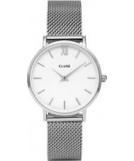 Cluse CL30009 reloj de señoras de malla minuit