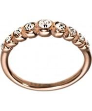 Edblad 2153441919-S Las señoras de valencia de oro rosa anillo chapado en línea - tamaño n (s)
