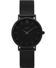 Cluse CL30011 reloj de señoras de malla minuit