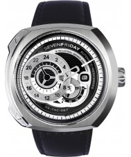 Sevenfriday Q1-01 Reloj de motor industrial