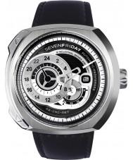Sevenfriday Q1-01 Reloj de motor industrial