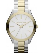 Michael Kors MK3198 Señoras de la pista reloj pulsera de acero de dos tonos
