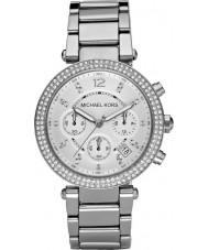Michael Kors MK5353 Damas Blair tono plateado reloj cronógrafo