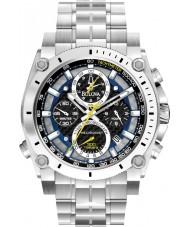 Bulova 96G175 reloj cronógrafo de pulsera de acero de plata para hombre Precisionist