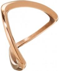 Edblad 3153441918-S Señoras Kavala oro rosa anillo plateado - tamaño n (s)