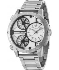 Police 14699JS-01M Reloj de la serpiente de cascabel de los hombres