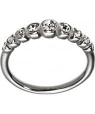 Edblad 2153441920-XS Las señoras de valencia anillo de línea de acero brillante - tamaño l (x)