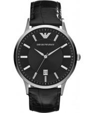Emporio Armani AR2411 Reloj para hombre negro clásico