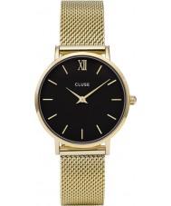 Cluse CL30012 reloj de señoras de malla minuit
