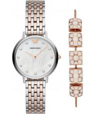 Emporio Armani AR80016 Señoras reloj conjunto de regalo