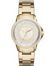 Armani Exchange AX4321 Señoras de oro urbana del reloj plateado de piedra situada