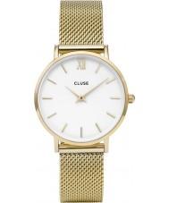 Cluse CL30010 reloj de señoras de malla minuit