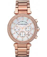 Michael Kors MK5491 reloj cronógrafo damas Parker