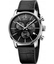 Calvin Klein K2G271C3 reloj cronógrafo para hombre negro de la ciudad