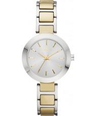 DKNY NY2401 Damas Stanhope dos tonos reloj pulsera de acero