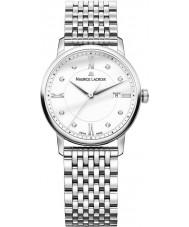 Maurice Lacroix EL1094-SS002-150-1 Damas Eliros reloj de plata brazalete de acero