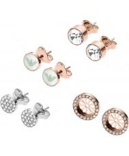 Emporio Armani EGS2456221 Conjunto de regalo de pendientes de mujer
