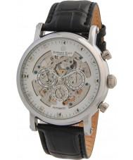 Edward East EDW5342G5 Reloj para hombre automático de la correa de cuero negro clásico