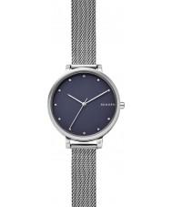 Skagen SKW2582 Damas Hagen reloj pulsera de malla de acero de plata