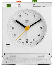 Braun BNC005WHWH Movimiento actived repetición despertador - blanco