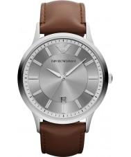 Emporio Armani AR2463 Reloj para hombre gris marrón clásico