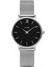 Cluse CL30015 reloj de señoras de malla minuit
