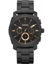 Fossil FS4682 reloj cronógrafo negro máquina para hombre