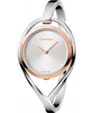 Calvin Klein K6L2MB16 Las señoras encienden reloj del brazalete de acero de plata