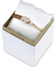 Guess UBS91310 Conjunto de caja de pulsera elegante de color de las señoras
