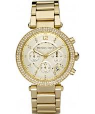 Michael Kors MK5354 Blair damas chapado en oro reloj cronógrafo