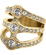 Dyrberg Kern 333764 Señoras de cristal ring robinia - Talla S