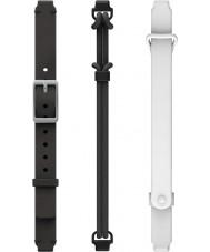 Misfit MIS9006 Ray dobles en blanco y negro correas de repuesto