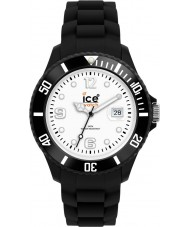 Ice-Watch SI.BW.B.S reloj grande negro-blanco hielo