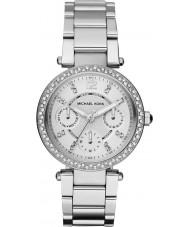 Michael Kors MK5615 Parker damas de acero de plata reloj pulsera