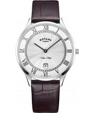 Rotary GS08300-01 Reloj ultra delgado para hombre